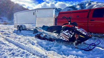 SwampStompers Snowmobile
