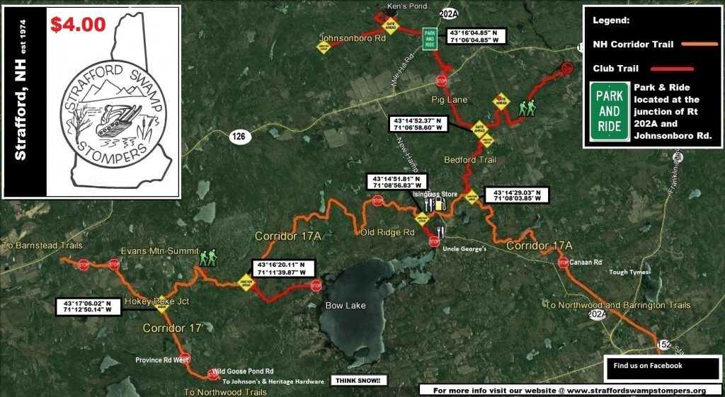 Trail Map - Strafford Swamp Stompers on nh all terrain vehicle trail map, cheshire nh map, nh dirtbike trail map, cannon mt trail map, nh new hampshire state map, nh fish and game map, gunstock mountain trail map, storm king mountain hiking trail map, maine its snowmobile map, lebanon nh rail trail map, nh on us map, brownfield me map, nh lakes and ponds map, beacon hill spokane trail map, nh atv trail map, mount rose nevada map, r.b. winter state park map, snowshoe mountain ski map, caswell state park trail map, nh hiking trail map,